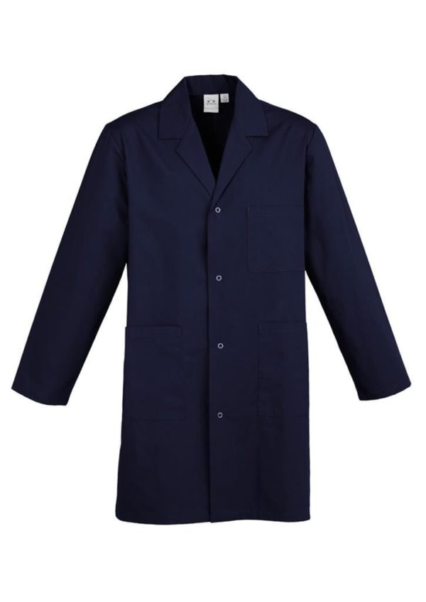 Unisex Classic Lab Coat Navy