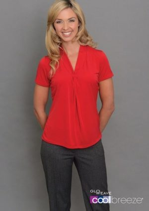 Ladies Short Sleeve Plain Jersey