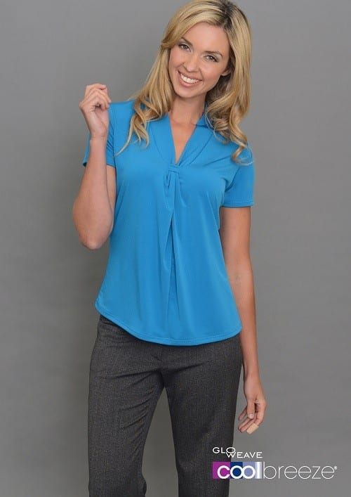 Ladies Short Sleeve Plain Jersey