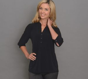 Ladies 3/4 Sleeve Plain Jersey