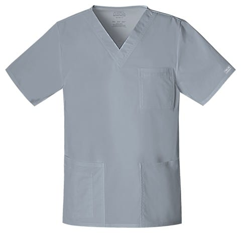 Premium Workwear Unisex Scrubs Top Grey