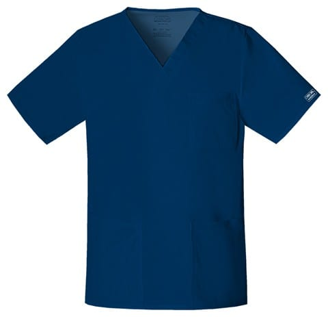 Premium Workwear Unisex Scrubs Top Navy