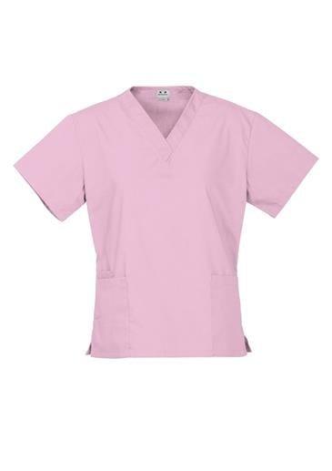 Ladies Classic Scrubs Top worn