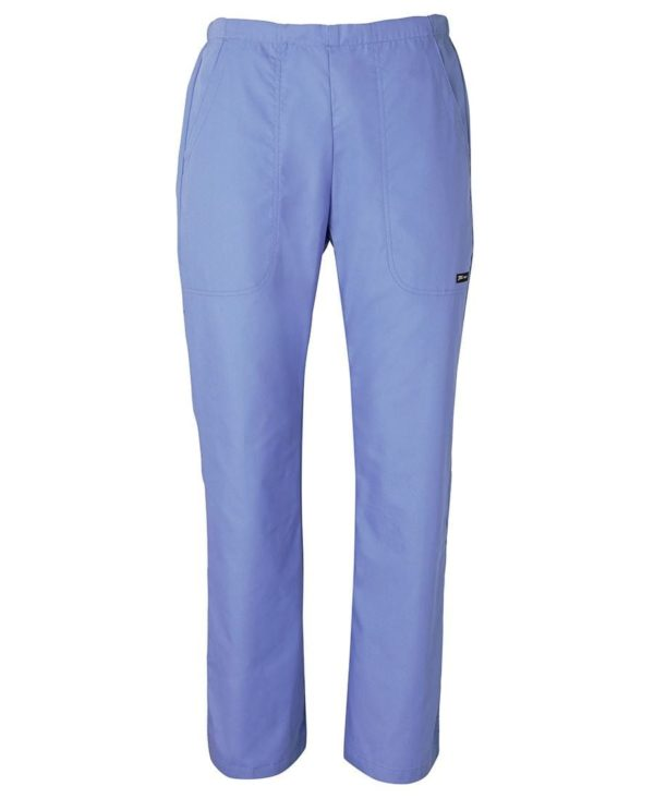 Ladies Scrubs Pant Light Blue