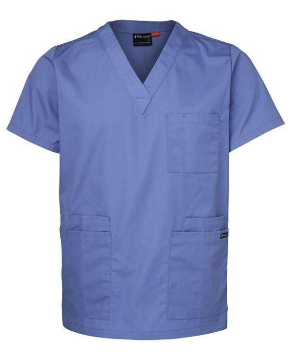 Unisex Scrubs Top light blue