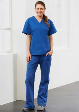 Ladies Classic Scrubs Top worn