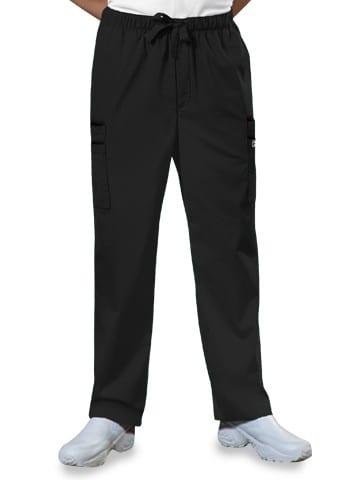 Premium Workwear Mens Drawstring Scrubs Pant Black
