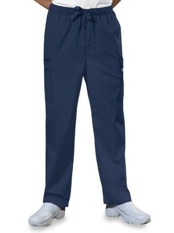 Premium Workwear Mens Drawstring Scrubs Pant Navy
