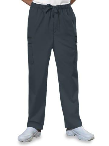 Premium Workwear Mens Drawstring Scrubs Pant Pewter