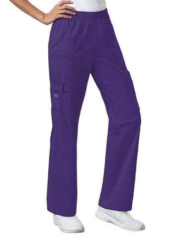 Premium Workwear Womens Pull On Scrubs Pant Grape