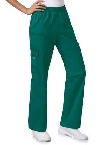 Premium Workwear Womens Pull On Scrubs Pant Hunter
