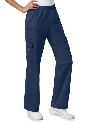 Premium Workwear Womens Pull On Scrubs Pant Navy