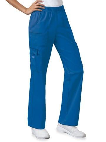 Premium Workwear Womens Pull On Scrubs Pant Royal