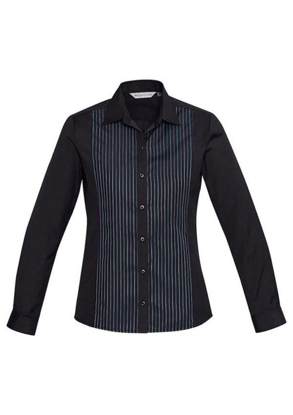 Mens Reno Panel Long Sleeve Shirt Colours