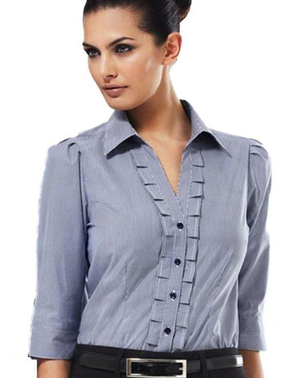 Ladies Edge 3/4 Sleeve Shirt Worn