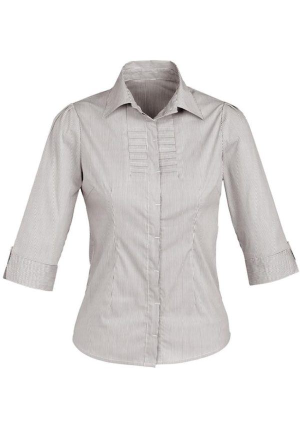 Ladies 3/4 Sleeve Berlin Shirt Worn