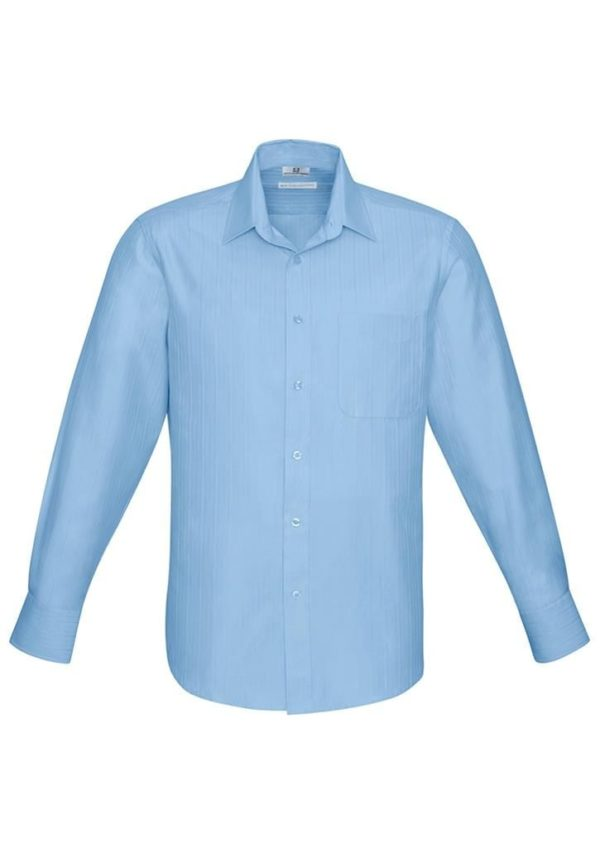 Mens Long Sleeve Preston Shirt Worn
