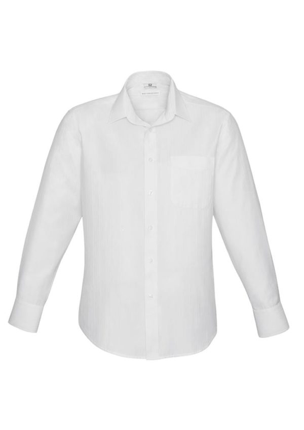 Mens Long Sleeve Preston Shirt Worn