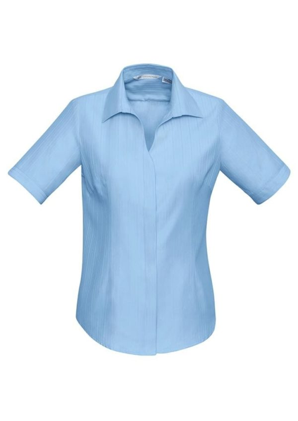 Ladies Short Sleeve Preston Shirt Worn