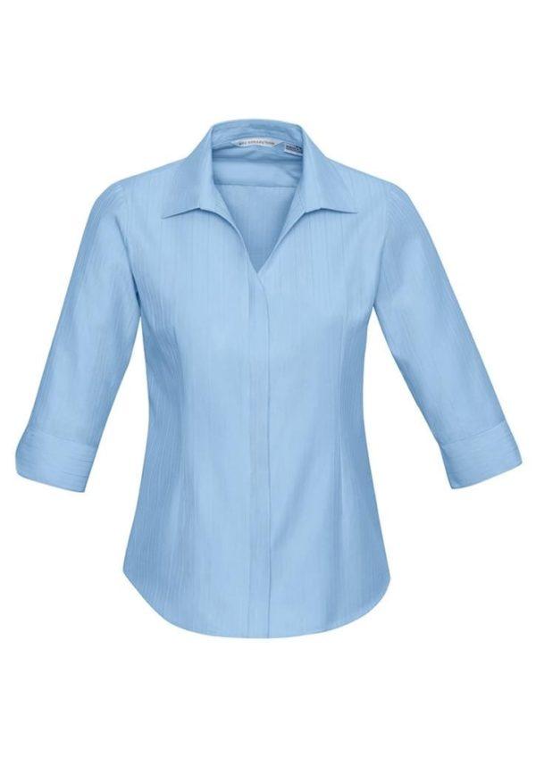 Ladis 3/4 Sleeve Preston Shirt Worn