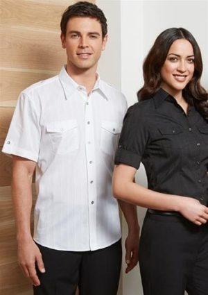 Mens Short Sleeve Brooklyn Shirt Worn