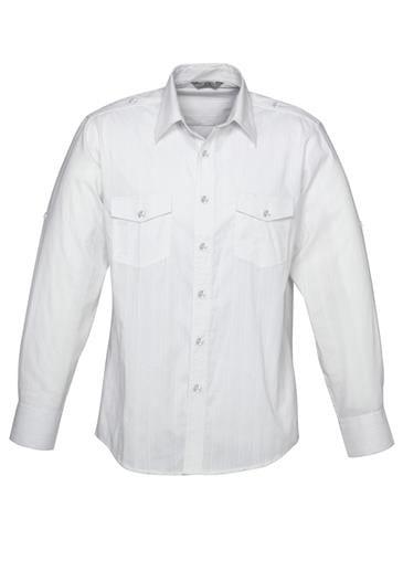 Mens Roll-Up Long Sleeve Brooklyn Shirt Worn