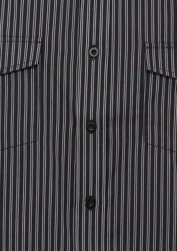Mens Short Sleeve Cuban Shirt Worn