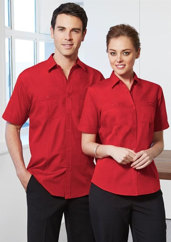 Mens Short Sleeve Bondi Shirt Worn