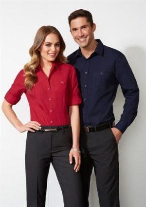 Mens Long Sleeve Bondi Shirt worn