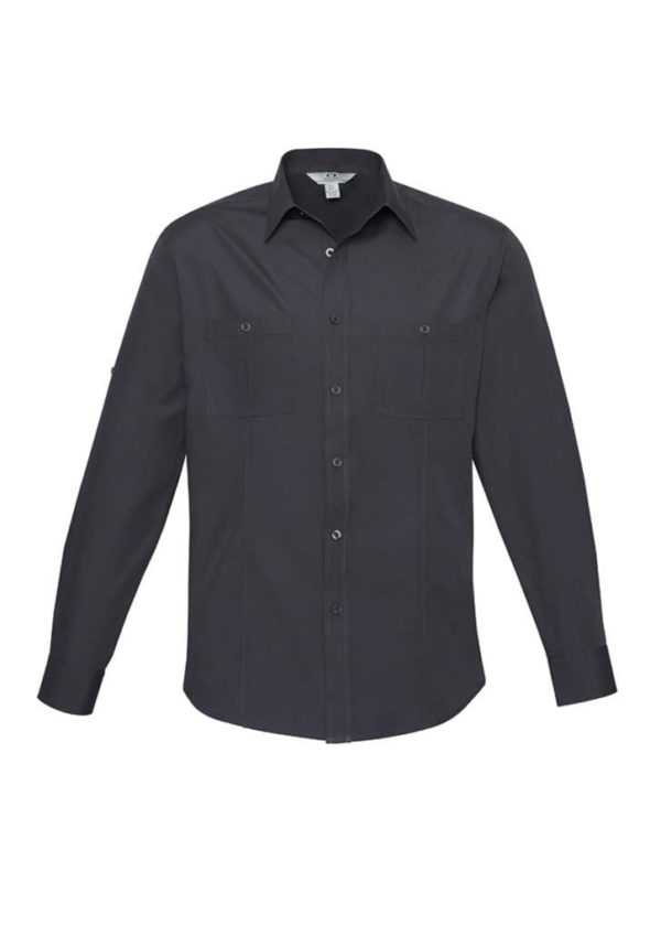 Mens Long Sleeve Bondi Shirt worn