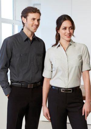 Ladies Long Sleeve Bondi Shirt Worn