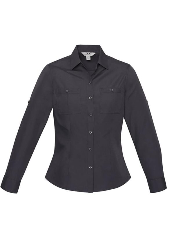 Ladies Long Sleeve Bondi Shirt Worn