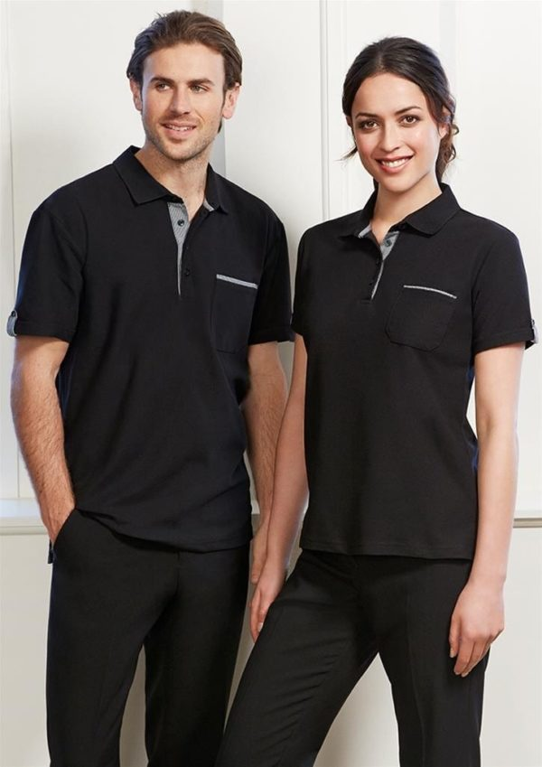 Ladies Edge Polo Worn