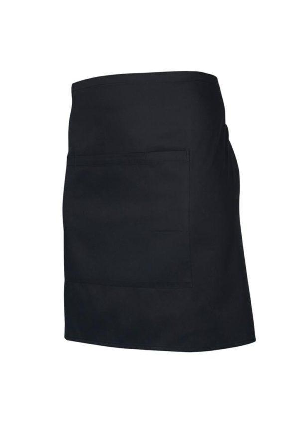 Short Waisted Apron Black