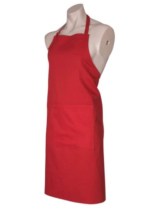 Bib Apron Red