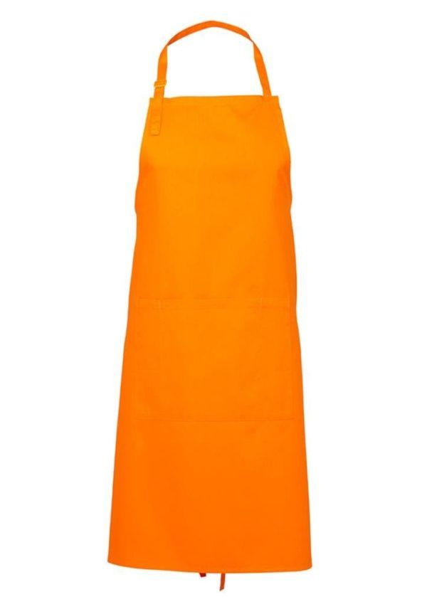 Bib Apron Orange