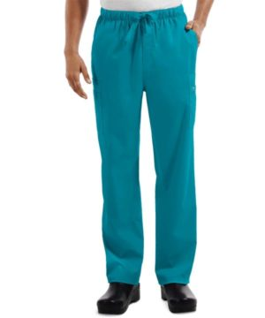 Premium Workwear Mens Drawstring Scrubs Pant Teal
