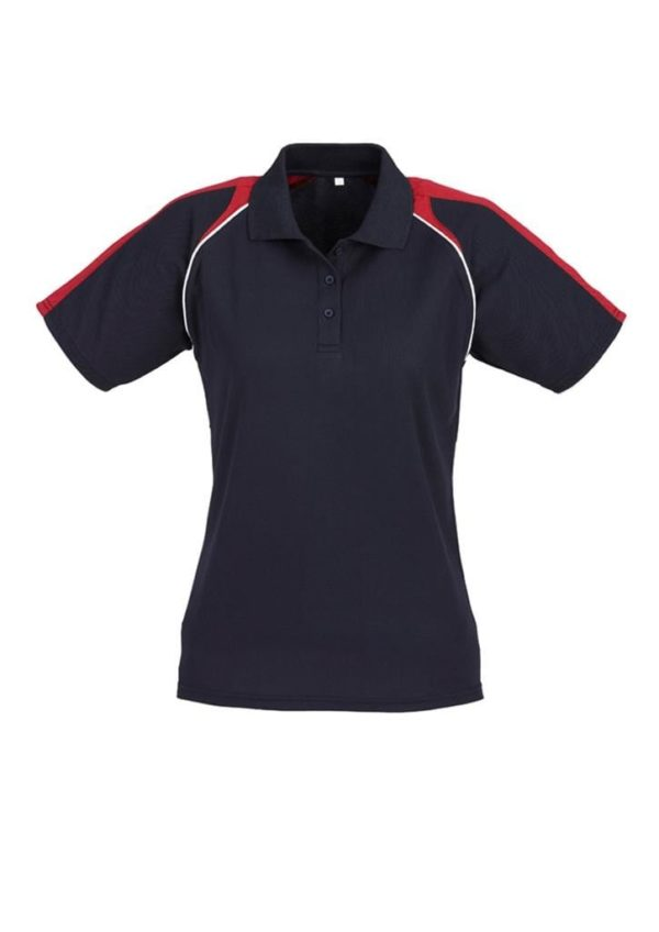 Triton Ladies Polo Navy/Red/White