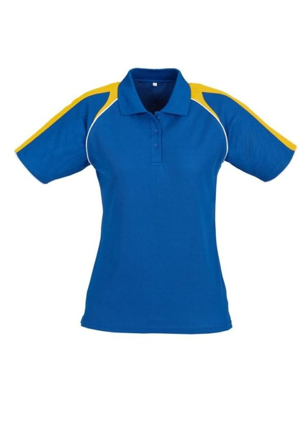 Triton Ladies Polo Royal/Gold/White