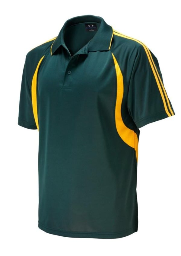 Flash Ladies Polo Forest/Gold