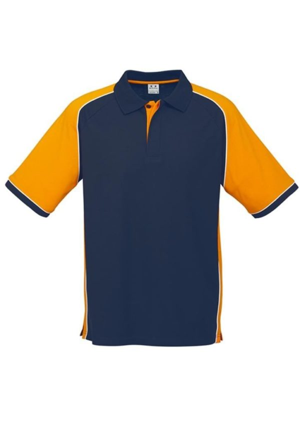 Nitro Uinisex Polo Navy/Gold/White