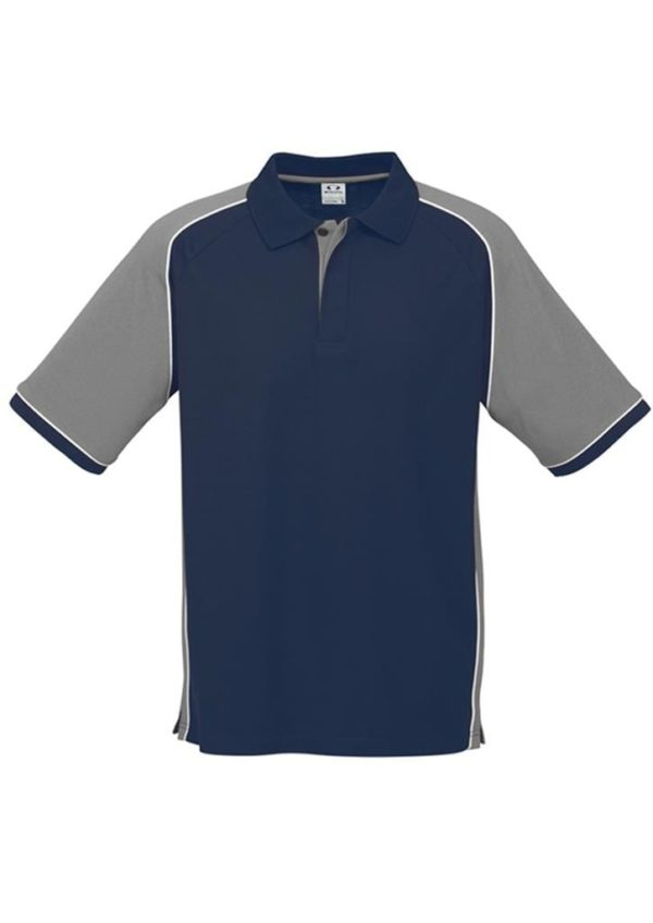 Nitro Uinisex Polo Navy/Grey/White
