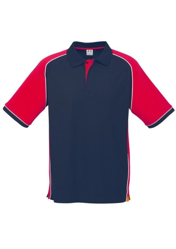 Nitro Uinisex Polo Navy/Red/White