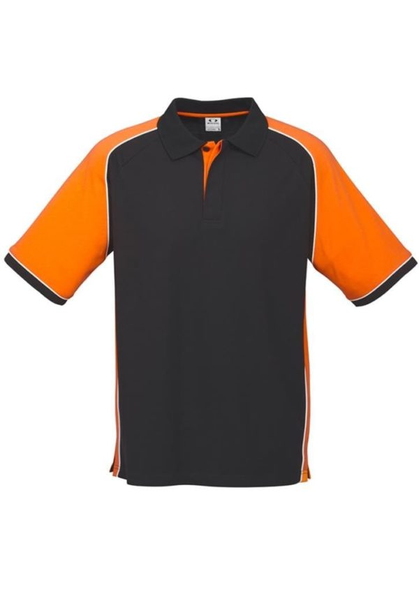 Nitro Uinisex Polo Black/Orange/White