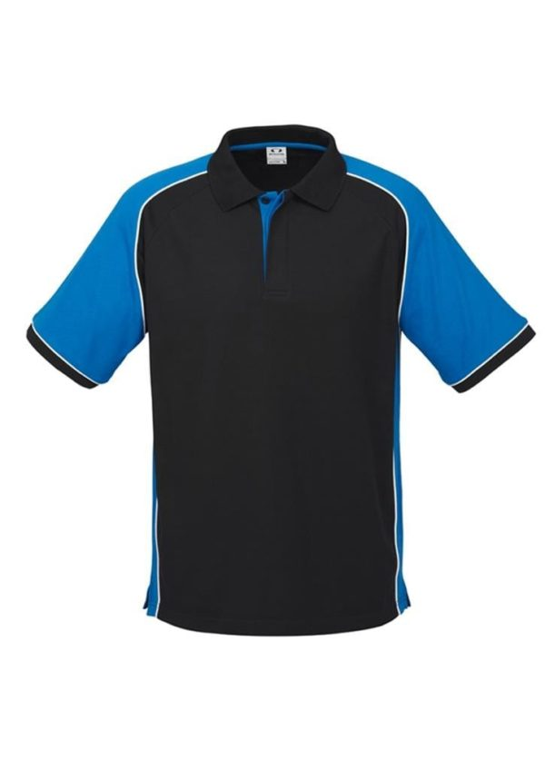 Nitro Uinisex Polo Black/Royal/White