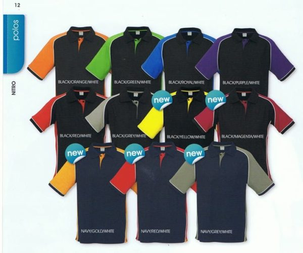 Nitro Ladies Polo Colours