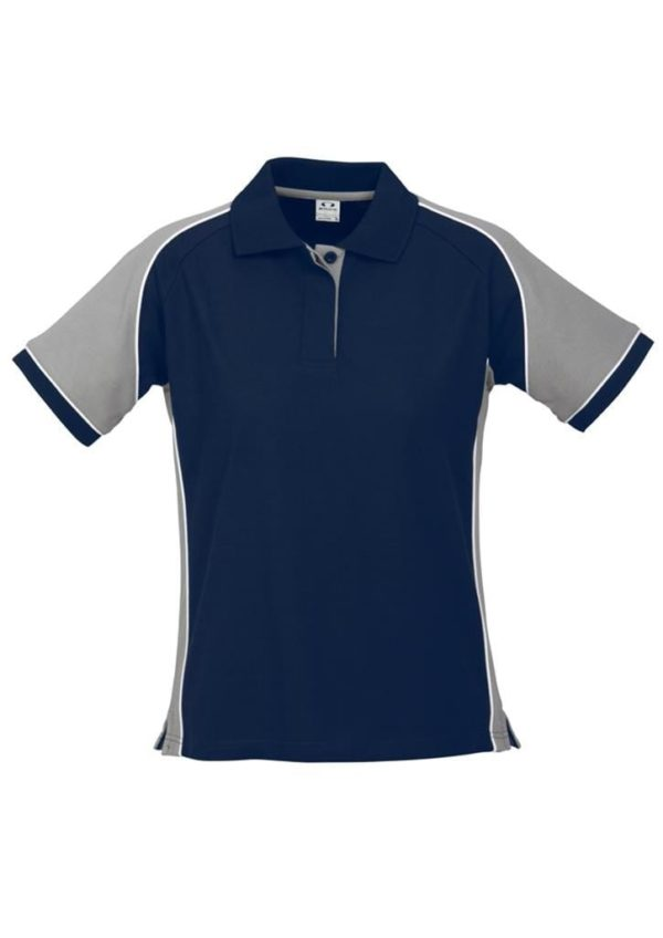 Nitro Ladies Polo Navy/Grey/White