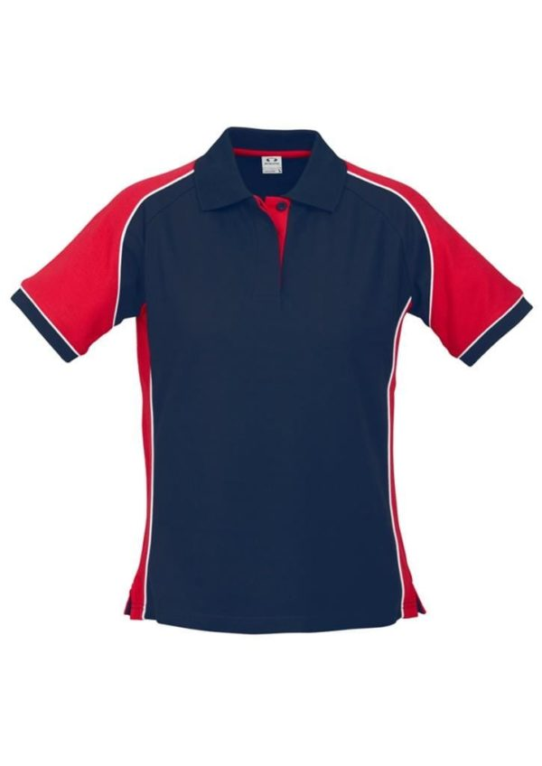 Nitro Ladies Polo Navy/Red/White