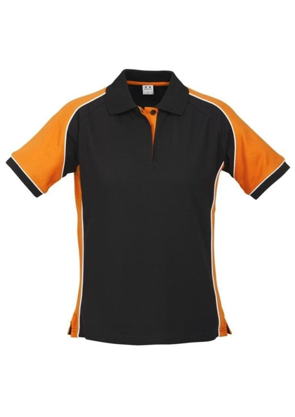 Nitro Ladies Polo Black/Orange/White