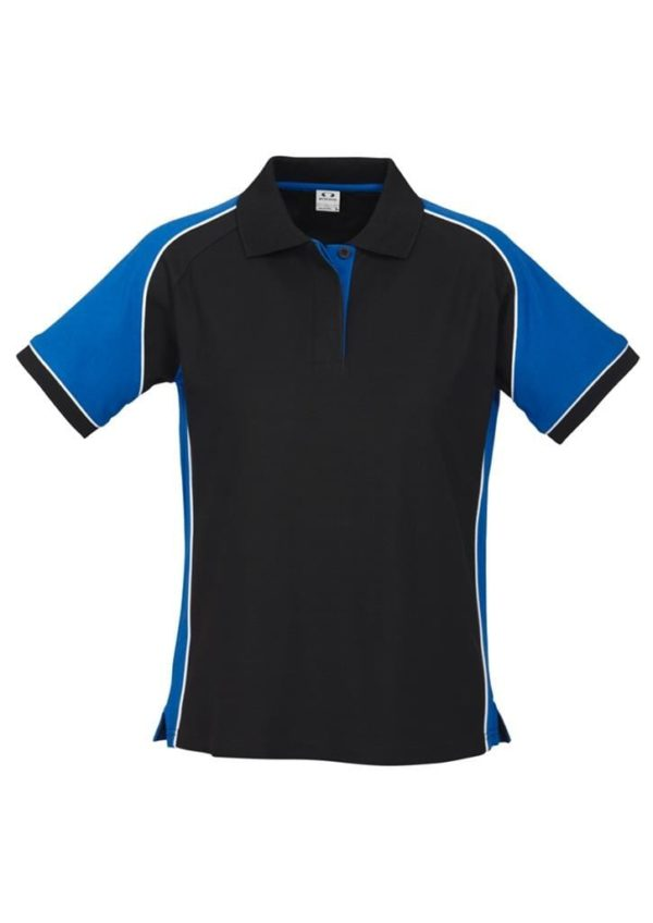 Nitro Ladies Polo Black/Royal/White